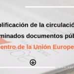 documentos dentro de la Union Europea agp traducciones